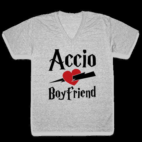 Accio Boyfriend V-Neck Tee Shirt