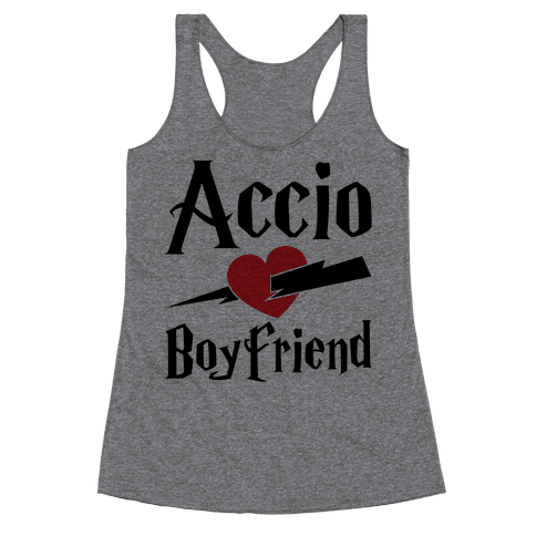 Accio Boyfriend Racerback Tank Top