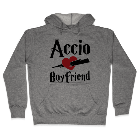 Accio Boyfriend Hooded Sweatshirt
