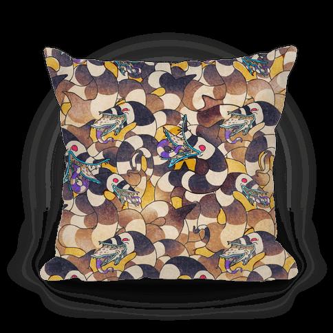 Beetlejuice Sandworm Pillow