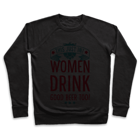 This Just In! Women Drink Good Beer Too!