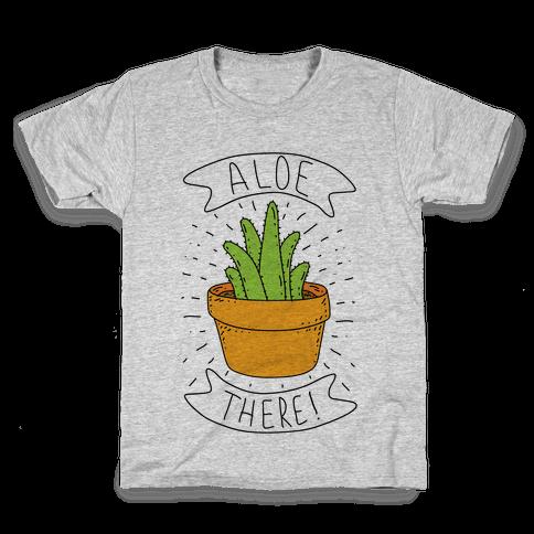 Aloe There! Kids T-Shirt