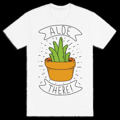 Aloe There! Mens T-Shirt
