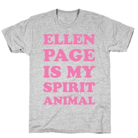 Ellen Page Is My Spirit Animal T-Shirt