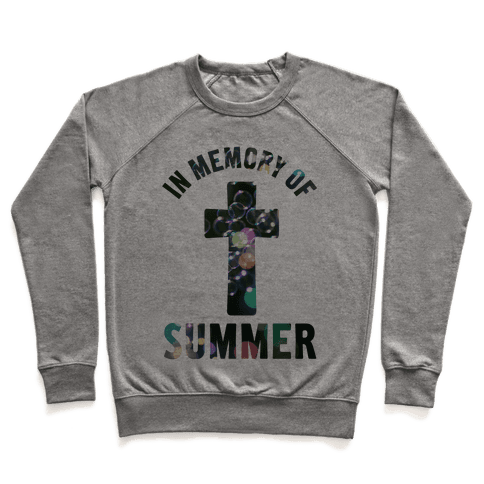 In Memory Of Summer Pullover