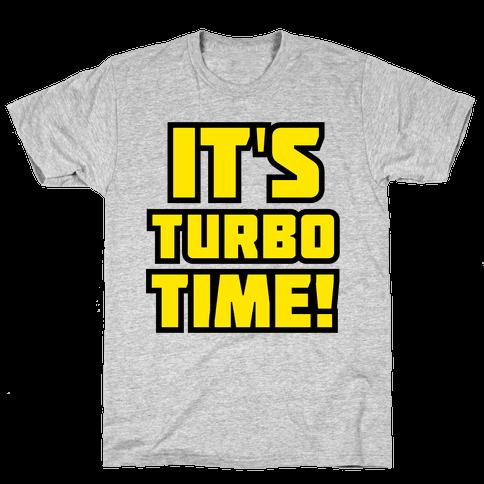 It's Turbo Time Mens T-Shirt