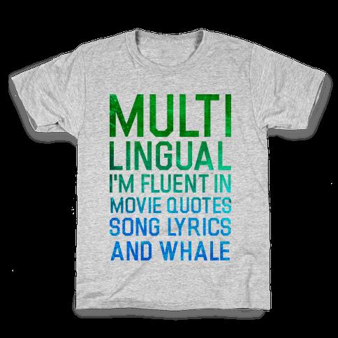 Multilingual Kids T-Shirt