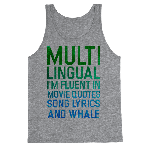 Multilingual Tank Top
