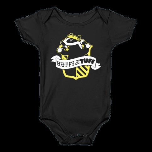 HuffleTUFF Baby Onesy