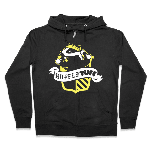 HuffleTUFF Zip Hoodie
