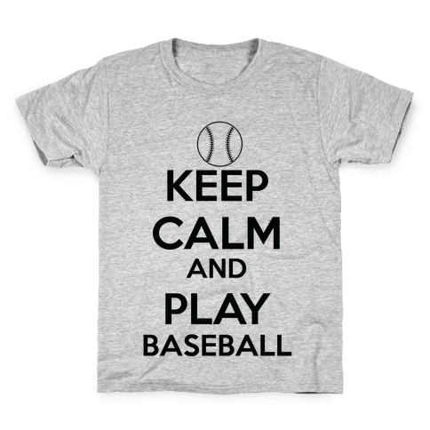 Play Baseball Kids T-Shirt