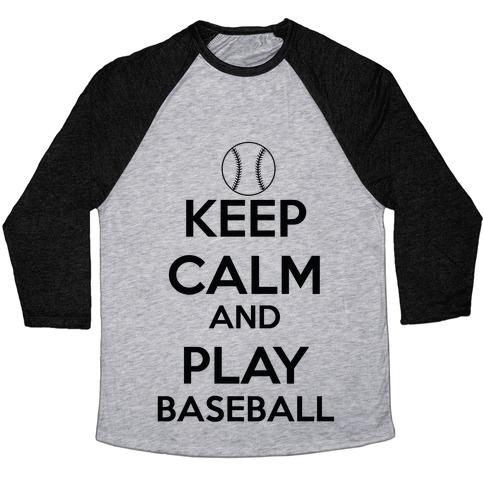 Play Baseball Baseball Tee