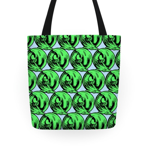 Sleeping Dragon (Green) Tote