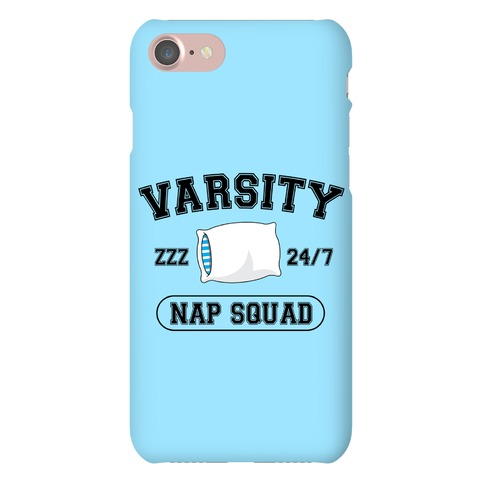 Varsity Nap Squad Phone Case