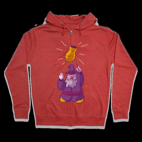The Wizard Of Vase Zip Hoodie