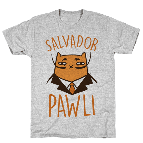 Salvador Pawli Mens T-Shirt