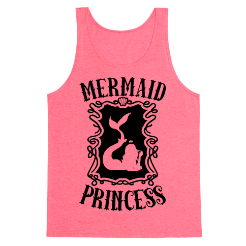 Mermaid Princess Tank Top