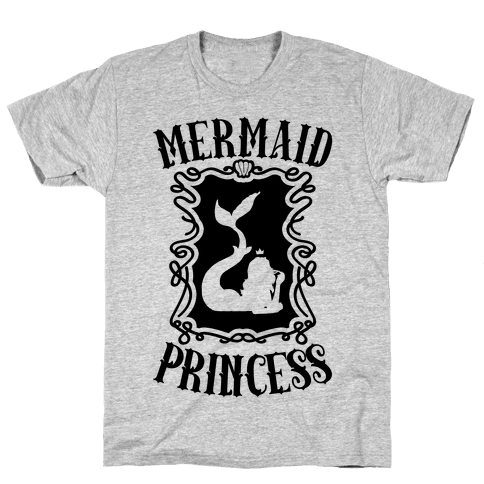 Mermaid Princess Mens T-Shirt