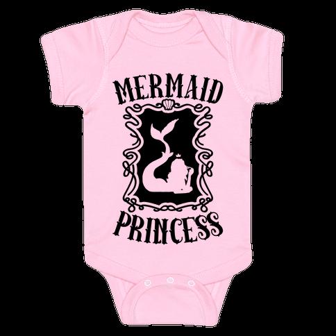 Mermaid Princess Baby Onesy