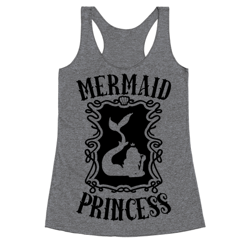 Mermaid Princess Racerback Tank Top