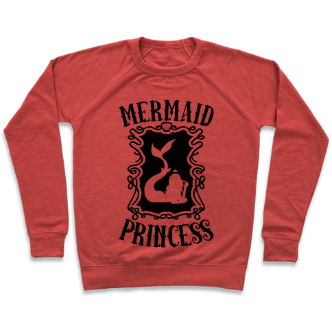 Mermaid Princess Pullover