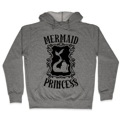 Mermaid Princess Hooded Sweatshirt