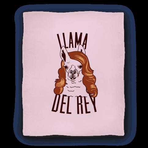 Llama Del Ray Blanket