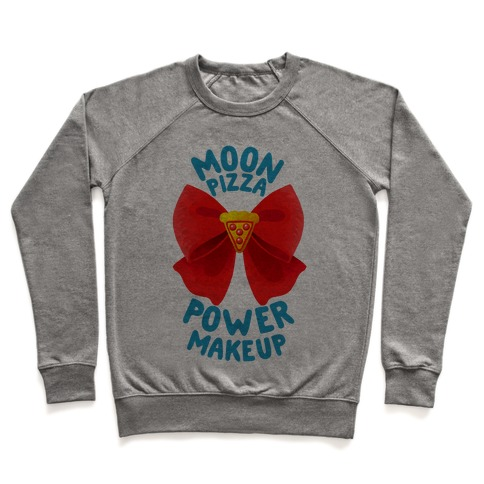 Moon Pizza Power Makeup! Pullover