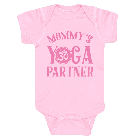 Mommy's Yoga Partner Baby Onesy