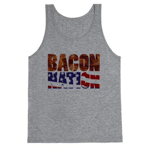 Bacon Nation Tank Top