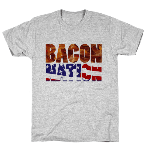 Bacon Nation Mens T-Shirt