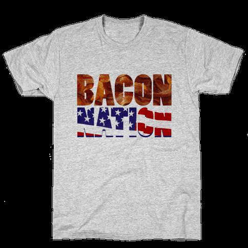Bacon Nation Mens T-Shirt