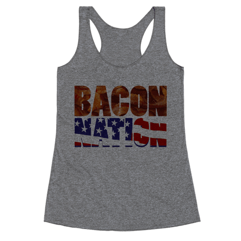 Bacon Nation Racerback Tank Top