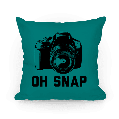 Oh Snap Pillow