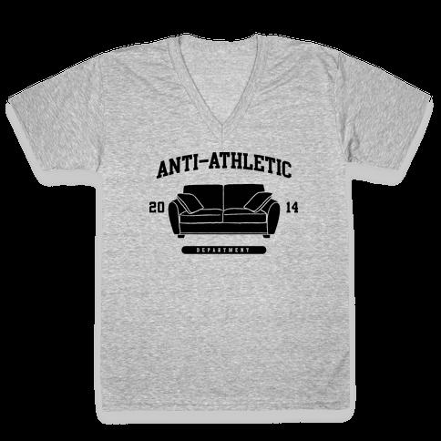 Anti Athletic Club V-Neck Tee Shirt