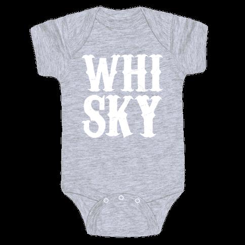 Whisky! Baby Onesy