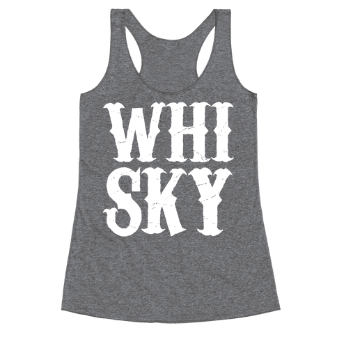 Whisky! Racerback Tank Top