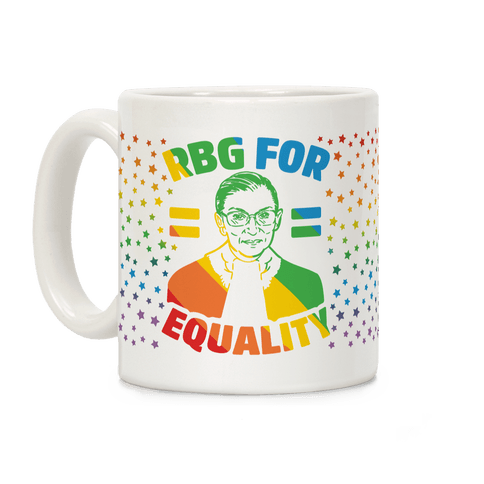 RBG For Equality Coffee Mug