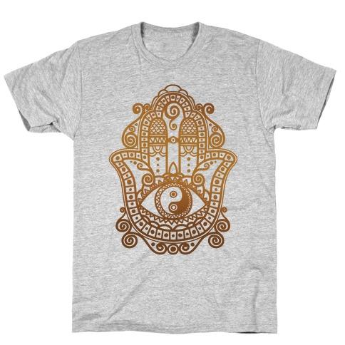 Peaceful Hamsa Hand T-Shirt