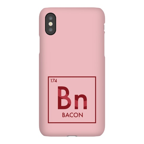 Bacon Periodic Element Phone Case