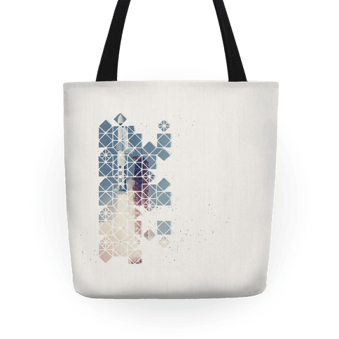 Hexagon Space Ship Tote
