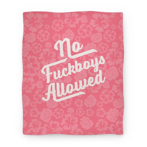 No F***boys Allowed Blanket