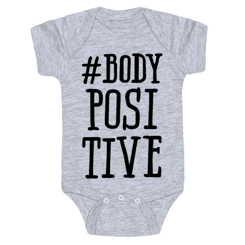 #Body Positive Baby Onesy