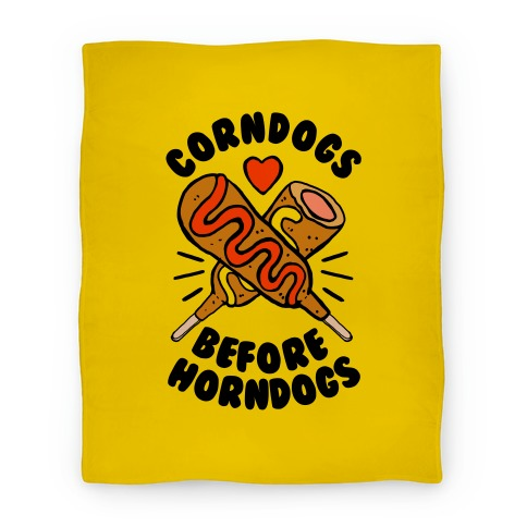 Corndogs Before Horndogs Blanket