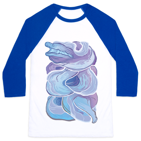 Moray Eel Baseball Tee
