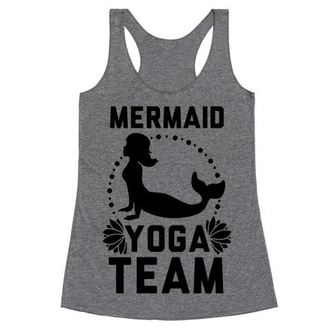 Mermaid Yoga Team Racerback Tank Top