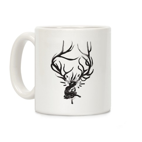 A Jackalope's Lullaby Coffee Mug