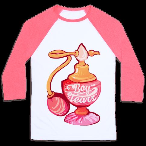 Boy Tears Perfume Baseball Tee