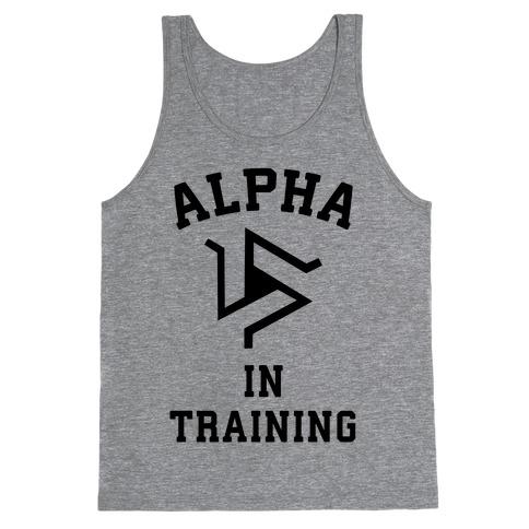 Alpha In Training Tank Top