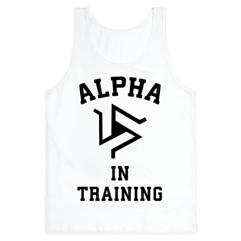Alpha In Training Tank Top